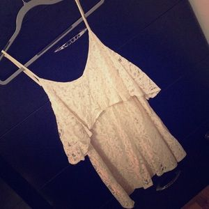 Creme Lace Tobi Dress