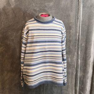 Croft & barrow striped crew neck sweater