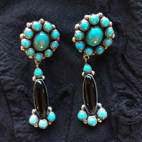 cbf7d53f8 Federico Jimenez Jewelry - FEDERICO JIMENEZ Authentic Turquoise Earrings