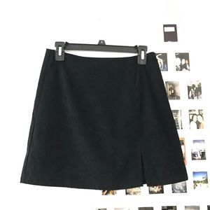 Vintage no boundaries suede skirt