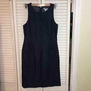 Old navy blue print dress