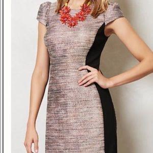 Moulinette Soeurs Metallic Tweed Sheath Dress