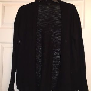 NWOT Express Black Open Cardigan- Medium