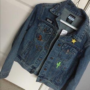Toy story denim jacket