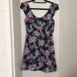 AQUA for Bloomingdales Flower Dress
