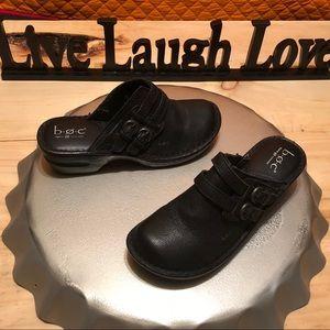 b. o. c. Leather clogs