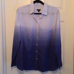Talbots ombré shirt