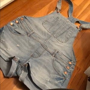 Other - worn twice shorts jeans overalls