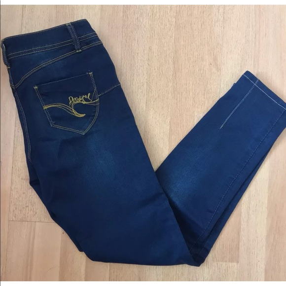 Ankle Second Skin Skinny 28 Desigual Jeans CxBode