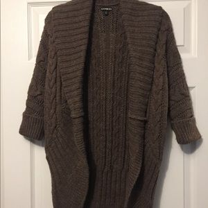 NWOT Express Cocoon Sweater Size XS Very Heavy!