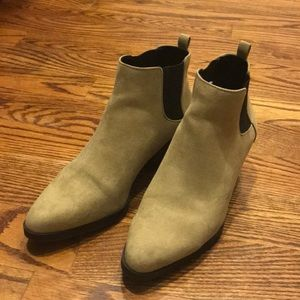 Old Navy pointy chelsea boots