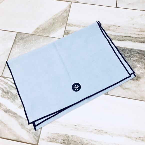 Manduka Yogitoes Other Manduka Yogitoes Blue Skidless Yoga Mat Towel Poshmark