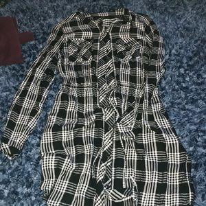Lucky Brand long sleeve dress