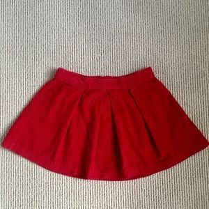 Girls Gap Corduroy Skirt with Zipper