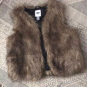 Super soft and cute fur vest