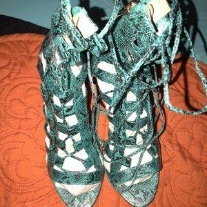Brand New snakeskin Heels