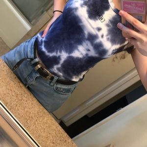 """""""Babe"""" tie - dye tee shirt from Pacsun"""