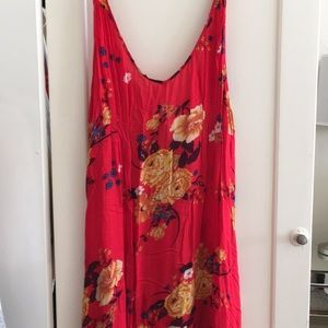 Free people , floral maxi dress