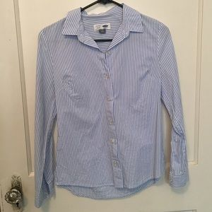 Old Navy striped button up