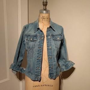 Gap Stretch denim jean jacket xs