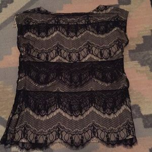 Lace blouse from Ann Taylor