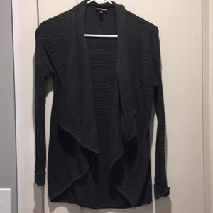 Express ribbed cardigan