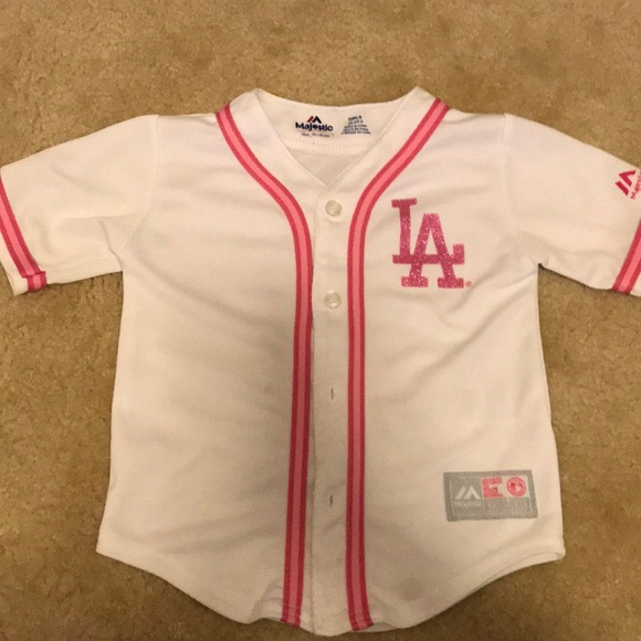 Majestic Other - Toddler Girls LA Dodgers Jersey 64d94a91a00
