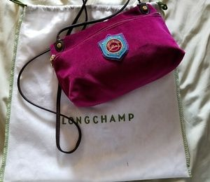 Longchamp Funtaisy Velveteen Crossbody