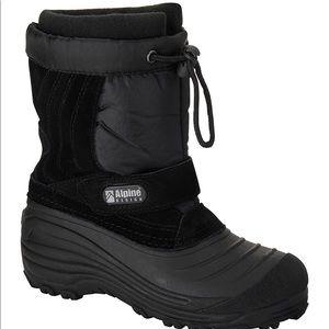 Snow boots alpine snow crusher boys