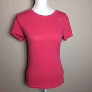 Women's Nike Dri-Fit Tee Pink Size Small