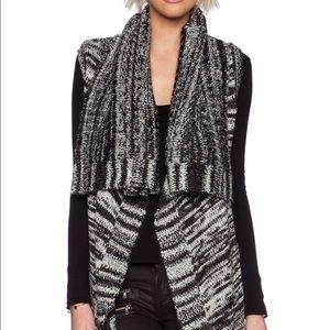 Chic Blank NYC Flying money wool vest