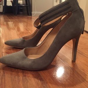 Olive Green 4 Inch Heels