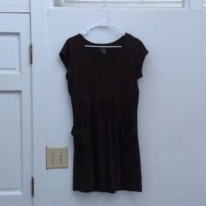 Brown Old Navy Dress with Pockets
