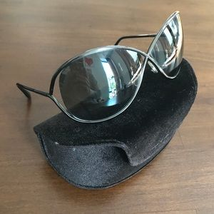Tom Ford Cross X Sunglasses With Case