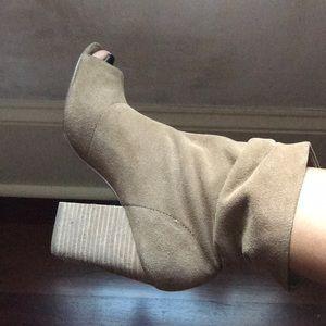 Chinese Laundry peep toe booties
