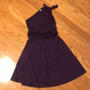 Dresses & Skirts - One shoulder flirty dress