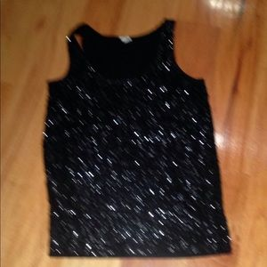 This is a sequin tank top.