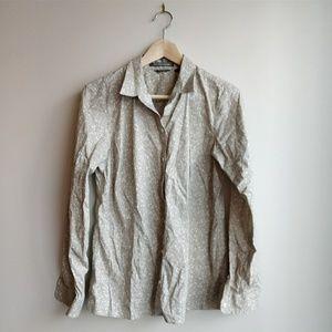 Eddie Bauer stretch wrinkle resistant button Shirt
