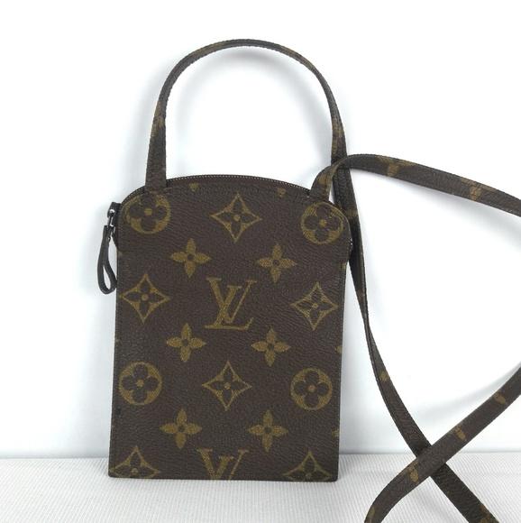bf5edf2464f Louis Vuitton Handbags - LOUIS VUITTON Vtg Mono Pochette Secret Passport