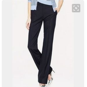NWT J. Crew Tall Hutton Trousers, Navy 6