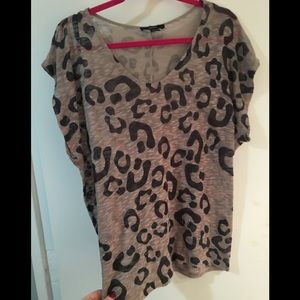 Forever 21 leopard top
