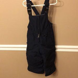 Ski bib/snow bib/snow pants-navy blue