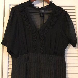 Bisou Bisou Black dress! Size 16W
