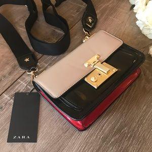Zara • crossbody bag