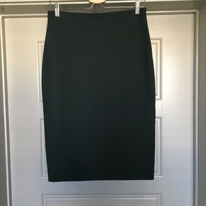 Loft Pencil Green Skirt Long Tall