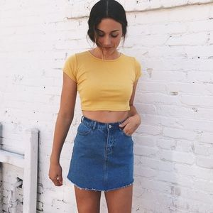 Denim Juliette Skirt