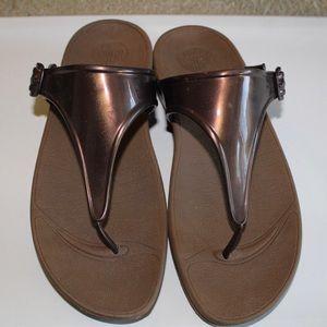flipflop brown/copper sandal