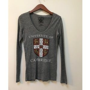 Urban Outfitters Cambridge Long Sleeve Tee