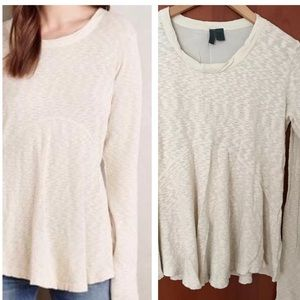 Anthropologie Left of Center top Sz S Small