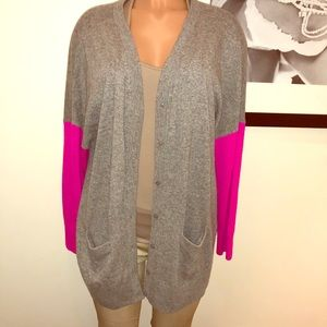 Color blocked (long) sweater